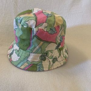 Lilly Pulitzer Floppy Hat One Size Cotton